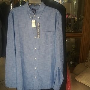 Jean color Gap men shirt